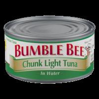 Bumble Bee Chunk Light Tuna in Water 12oz. Can product image
