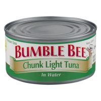 Bumble Bee Chunk Light Tuna in Water 12oz. Can