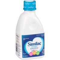 Similac Advance Infant Formula RTF 1QT BTL product image