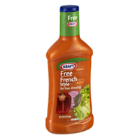 Kraft Free Salad Dressing French Style 16oz BTL
