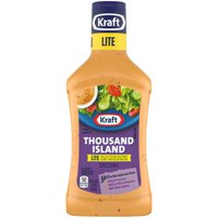 Kraft Salad Dressing Thousand Island Lite 16oz BTL product image