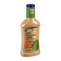 Kraft Free Salad Dressing Thousand Island 16oz BTL