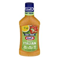 Kraft Salad Dressing Zesty Italian Fat Free 16oz BTL product image