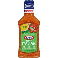 Kraft Salad Dressing Zesty Italian 16oz BTL product image