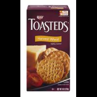 Keebler Toasteds Harvest Wheat 8oz Box product image