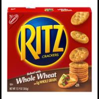 Nabisco Ritz Crackers Whole Wheat 12.9oz Box product image