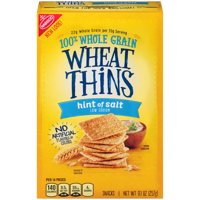 Nabisco Wheat Thins Hint of Salt 9.1oz Box product image