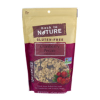 Back to Nature Granola Cranberry Pecan Granola 12oz PKG