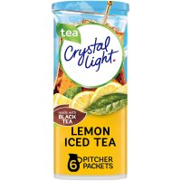 Crystal Light Iced Tea Mix with Natural Lemon Makes 12QTS 1.4oz Can