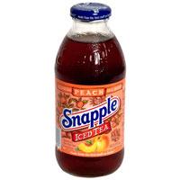 Snapple Iced Tea Peach 1EA 16oz BTL