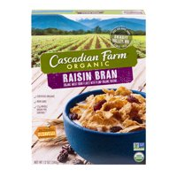 Cascadian Farm Raisin Bran Cereal 12oz Box product image