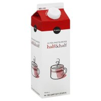 Store Brand Half and Half 32oz.(1 Quart) Carton