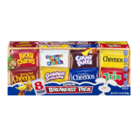General Mills Cereal Breakfast Pack 8CT 9.14oz Total product image