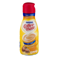 Nestle Coffee-mate Hazelnut Fat Free 32oz. BTL