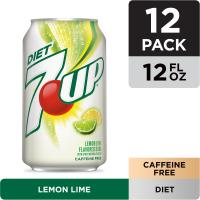 7-up Diet 12PK of 12oz Cans
