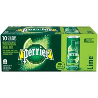 Perrier Sparkling Mineral Water Lime 25.3oz Bottle