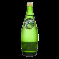 Perrier Sparkling Mineral Water Lime 25.3oz Bottle