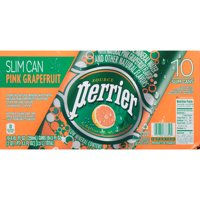 Perrier Sparkling Mineral Water Lemon 25.3oz Bottle