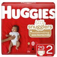 Huggies Snug & Dry Diapers Size 2 (12-18) Jumbo Pack 38CT PKG