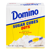 Domino Dots Pure Cane Sugar Cubes 1LB Box