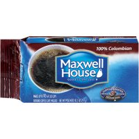 Maxwell House Ground Coffee 100% Colombian Medium Dark 10.5oz Vacuum Block