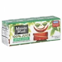 Minute Maid 100% Apple Juice 10PK of 6oz Boxes 60oz PKG