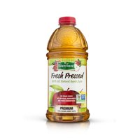 White House Fresh Pressed 100% Apple Juice Filtered 64oz BTL