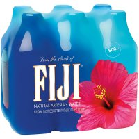Fiji Artesian Water 6PK of 16.9oz Bottles
