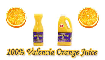 Indian River 100% Juice Valencia Orange 1LTR BTL
