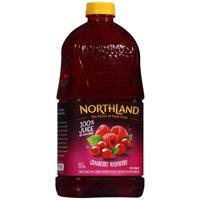 Northland 100% Juice No Sugar Added Cranberry Raspberry 64oz BTL