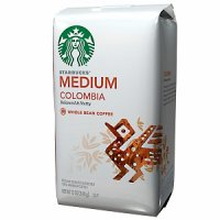 Starbucks Coffee Colombia (Ground) 12oz Bag