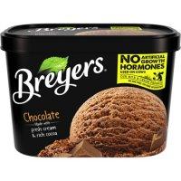 Breyers All Natural Ice Cream Chocolate 1.5QT