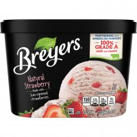 Breyers All Natural Ice Cream Strawberry 1.5QT product image