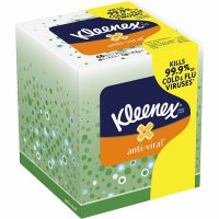 Kleenex Facial Tissue Anti-Viral 68CT Box