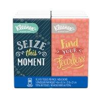 Kleenex Facial Tissue Pocket Pack 6PK of 10CT EA 60CT PKG product image