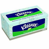 Kleenex Facial Tissue Lotion with Aloe & Vitamin E 120CT Box