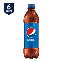 Pepsi Cola 6 Pack of 16.9oz Bottles