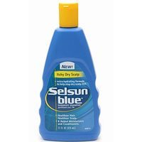 Selsun Blue Dandruff Shampoo For Itchy Dry Hair 11oz BTL