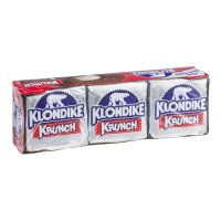 Klondike Ice Cream Bars Krunch 6CT 4.5oz EA 27oz PKG