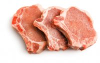 Pork Chops Bone-In Loin 2CT Approx. 8oz EA 1LB PKG