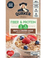 Quaker Instant Oatmeal Weight Control Maple Brown Sugar 8Pk