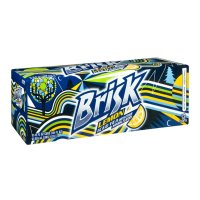 Lipton Brisk Iced Tea with Lemon 12PK of 12oz. Cans