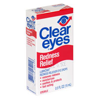 Clear Eyes Redness Relief Eye Drops .5oz BTL product image