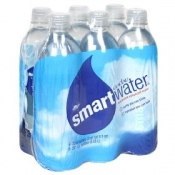 Glaceau Smart Water 6 Pack of 16.9oz Bottles