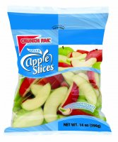 Crunchpak Fresh Sliced Apples Tart 14oz Bag product image