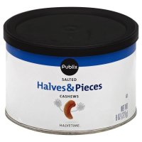 Store Brand Cashew Halves & Pieces 8oz Can