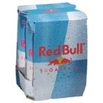 Red Bull Energy Drink Sugar Free 4PK of 8.4oz cans product image