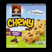 Quaker Chewy Granola Bars Oatmeal Raisin 8CT 6.7oz product image