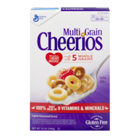 General Mills Cheerios MultiGrain Cereal 12oz Box product image