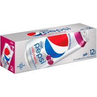 Pepsi Diet Wild Cherry 12 Pack of 12oz Cans product image